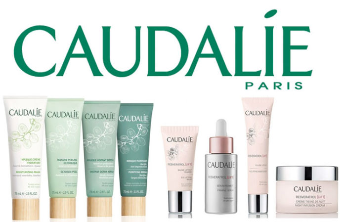 Caudalie facial products