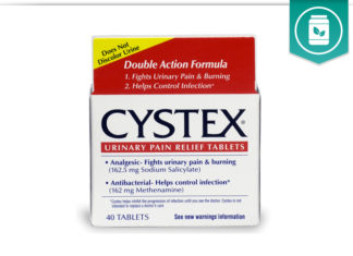 Cystex Urinary Pain Relief Tablets
